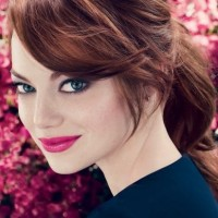 Simple Ponytail - Emma Stone Hairstyles