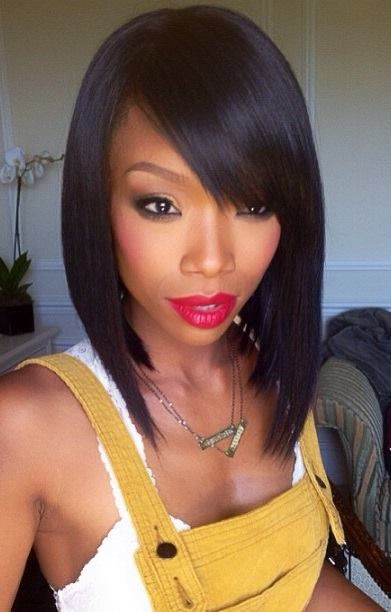 Terrific 16 Charming Black Bob Hairstyles For 2015 Pretty Designs Hairstyle Inspiration Daily Dogsangcom