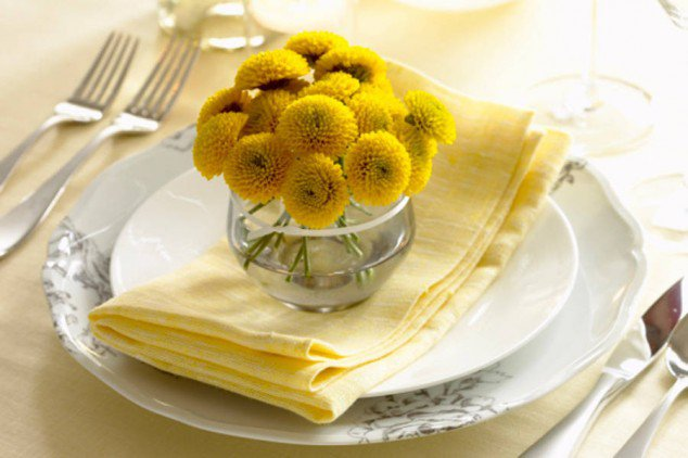 Small Gerberas for Table Decoration