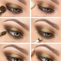 Smoky Eyes with Bronze Shadow