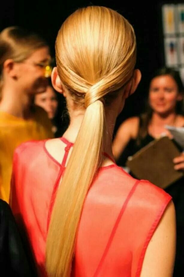 Special Ponytail Hairstyle