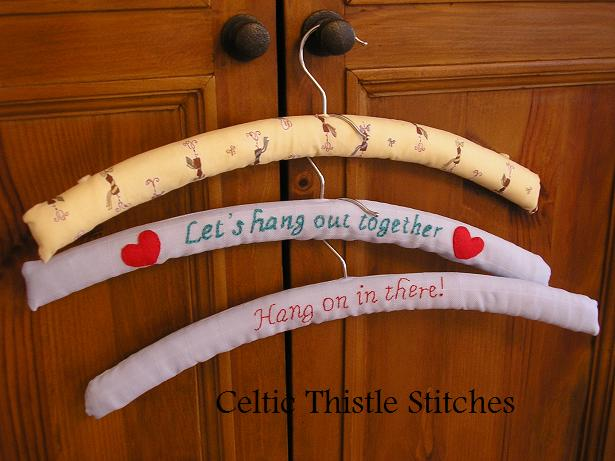 Stitched Hangers