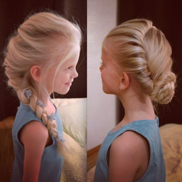 Surprising 14 Cute And Lovely Hairstyles For Little Girls Pretty Designs Hairstyles For Women Draintrainus