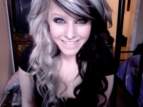 Super 12 Edgy Chic Black And Blonde Hairstyles Pretty Designs Hairstyle Inspiration Daily Dogsangcom