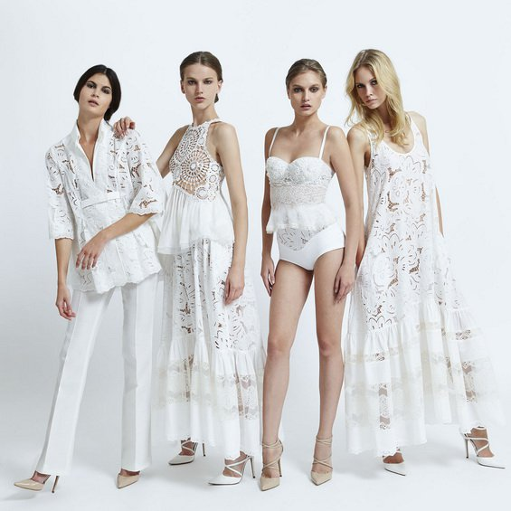 Stunning White Lace Outfits by Zuhair Murad