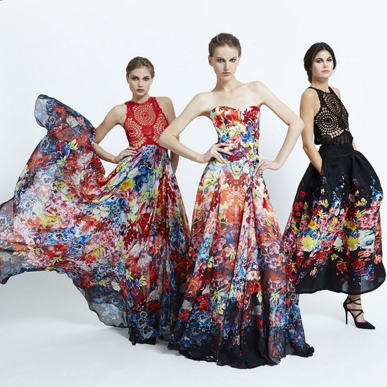 Stylish Floral Dresses by Zuhair Murad