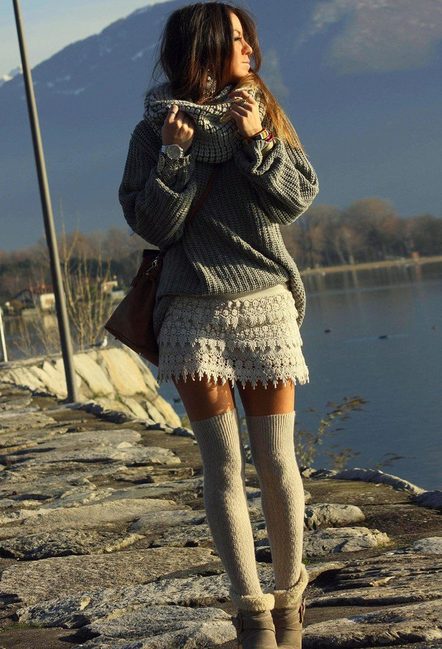 Stylish Grey Jumper for Fall