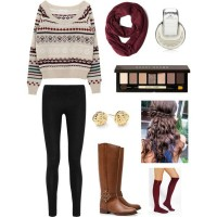 Stylish Leggings Outfit for Winter