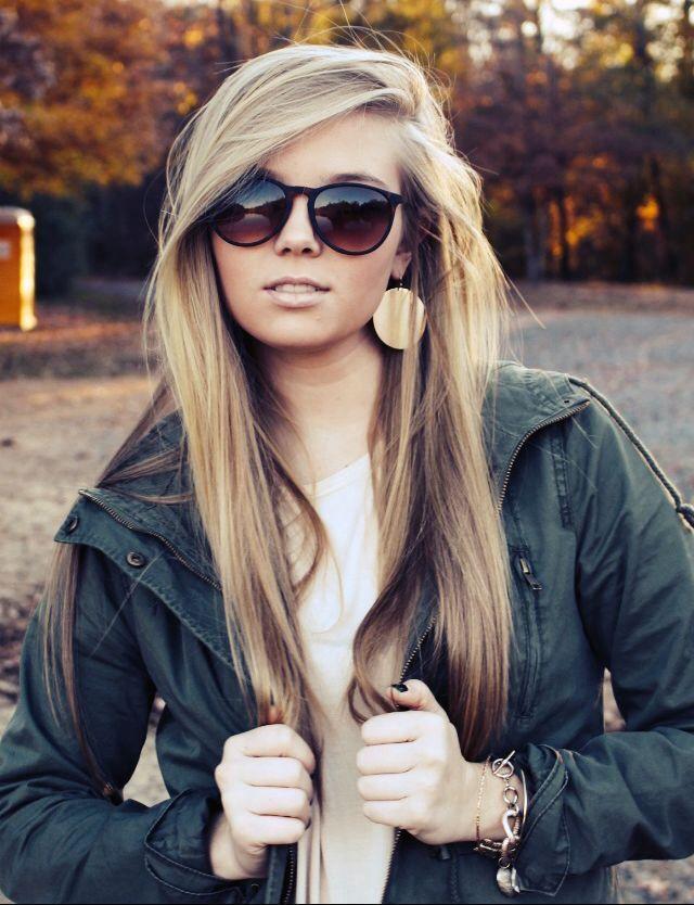 Stylish Long Straight Hairstyle