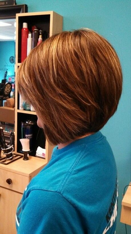 Stylish Short Layered Bob Hairstyle