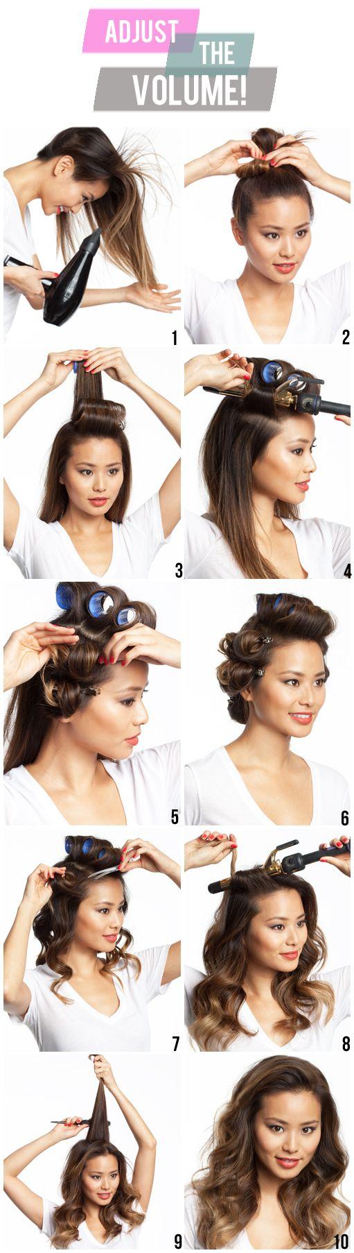 Укладка волос в домашних : Поиск отечественных фоток