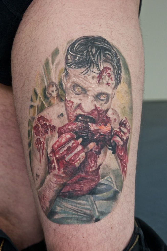 The Walking Dead Tattoo