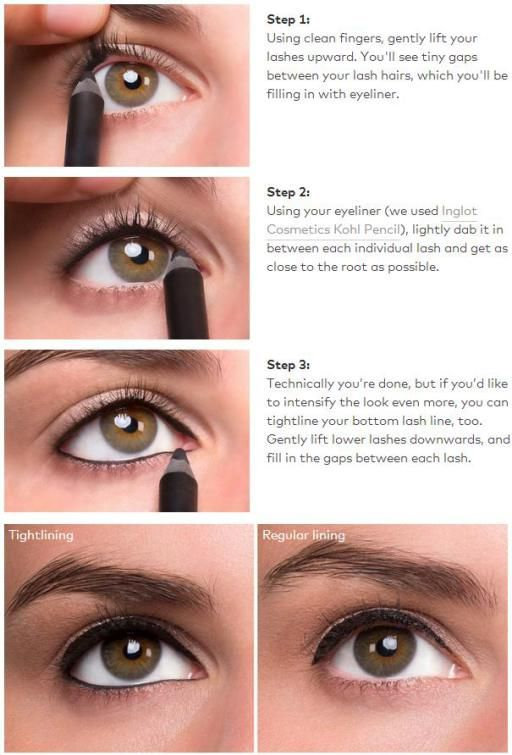 8 Ways For You To Tightline Your Eyes Pretty Designs
