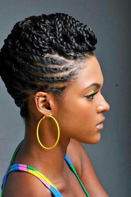 Terrific 17 Creative African Hair Braiding Styles Pretty Designs Short Hairstyles Gunalazisus