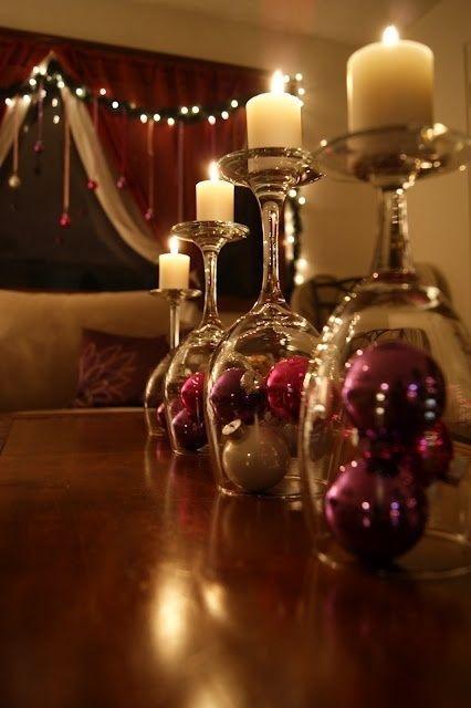 Upside Down Wine Glassess