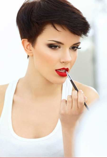 Vintage Short Pixie Hairstyle
