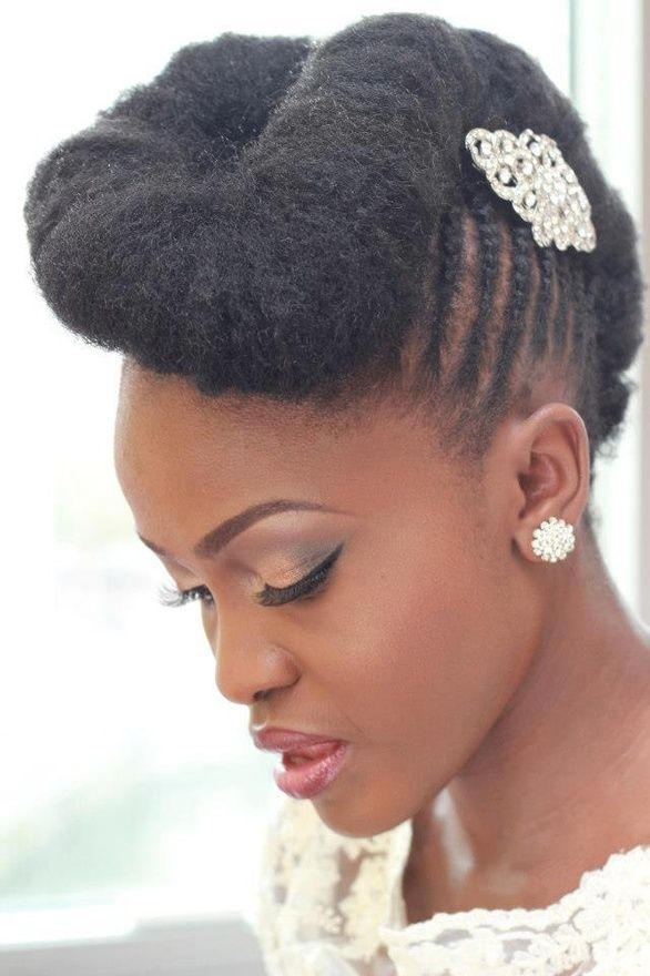 Latest Hair Do : 15 Awesome Wedding Hairstyles for Black Women - Pretty Designs