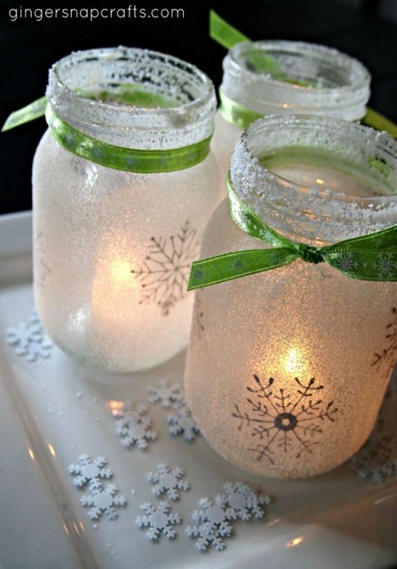 Winter Jar Lights