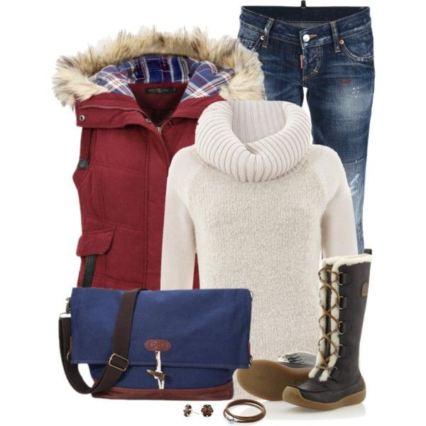 Casual Outfit Idea for Winter