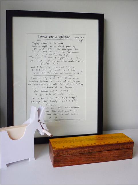 A Framed Family Letter
