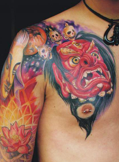 A Monster Tattoo
