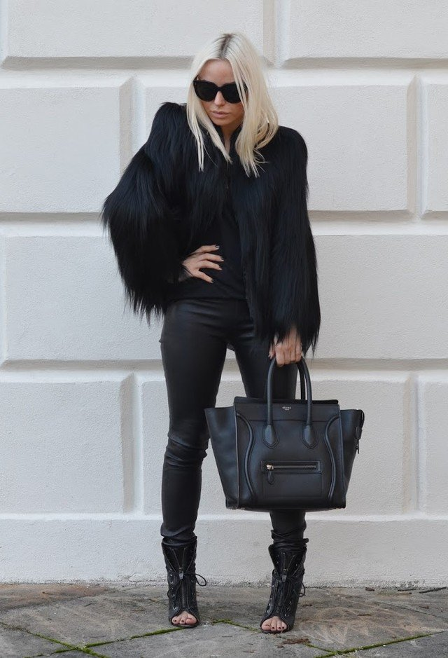 Go for A More Luxurious Winter Looks with Fur Outfits in ...