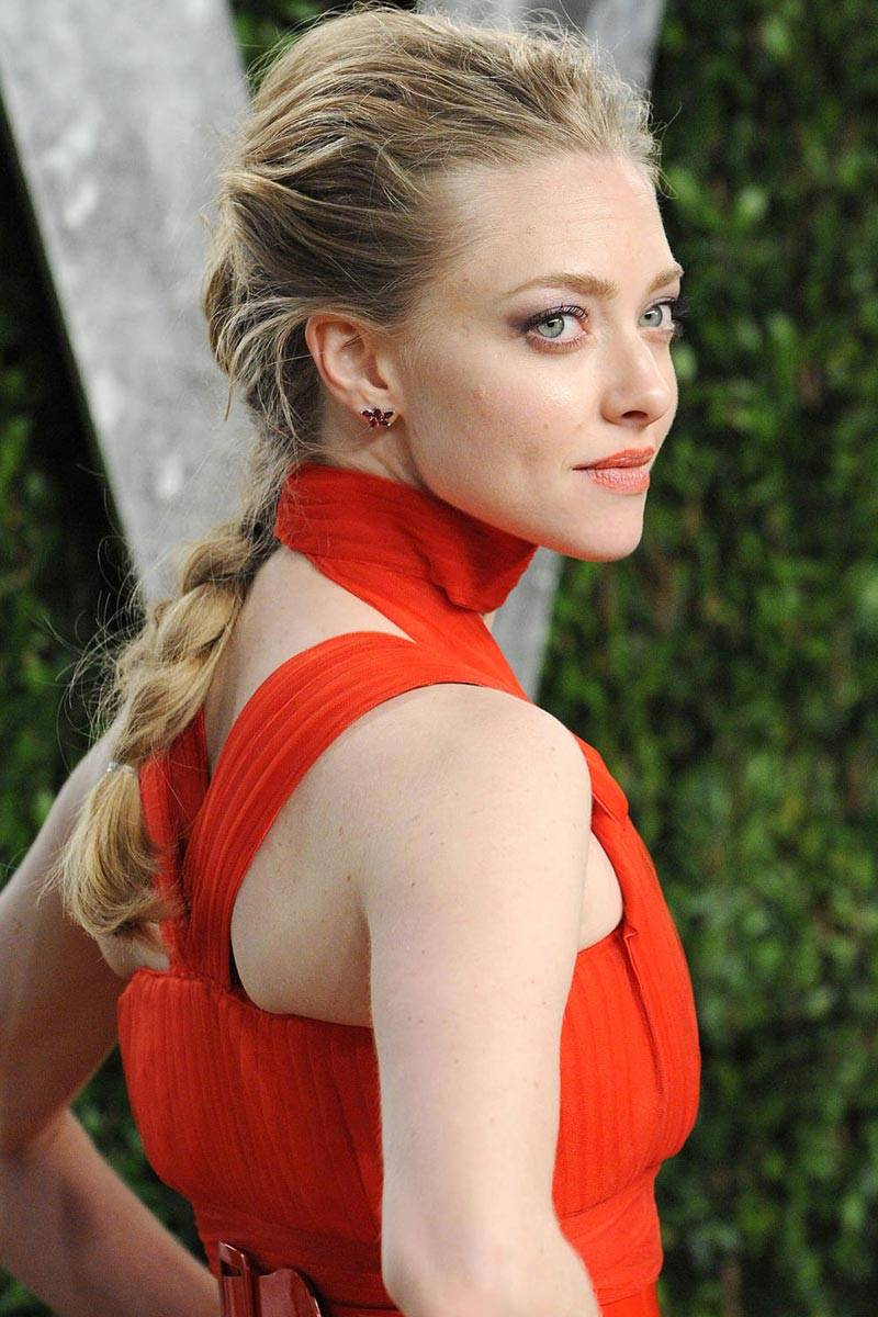 Amanda Seyfried Pretty Braid