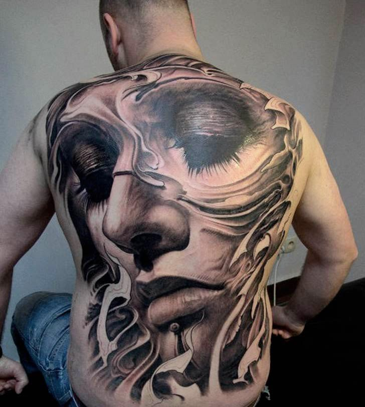 Amazing Back Piece