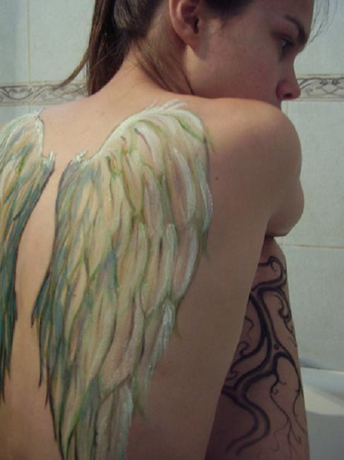 Angel Wings on Back
