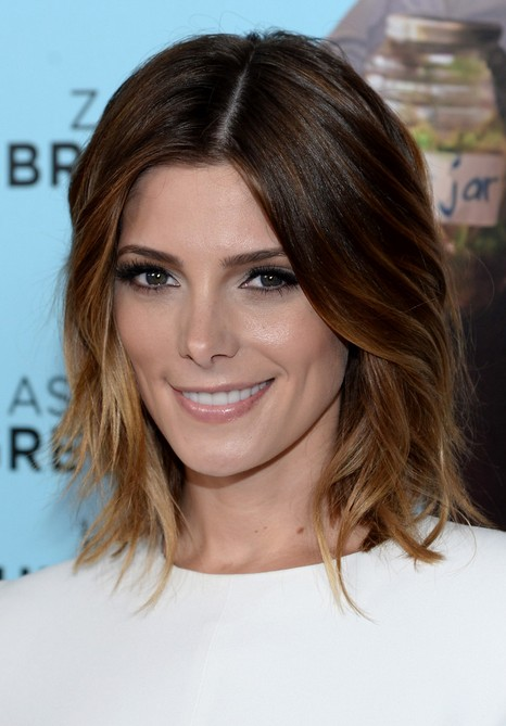 Hairstyles For Women 2015 short hairstyles 2015 women faux hawk short funky hairstyles short punk hairstyles Ashley Greene Short Layered Ombre Bob Hairstyle For Women