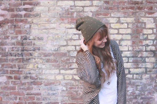 Beaded Beanie Hat