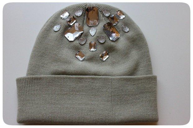 Beanie Hat with Stones