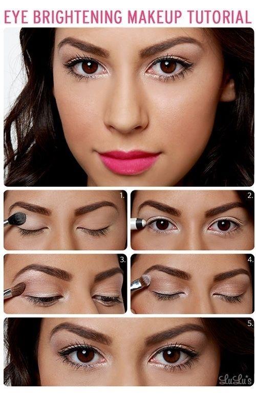 Makeup small eyes