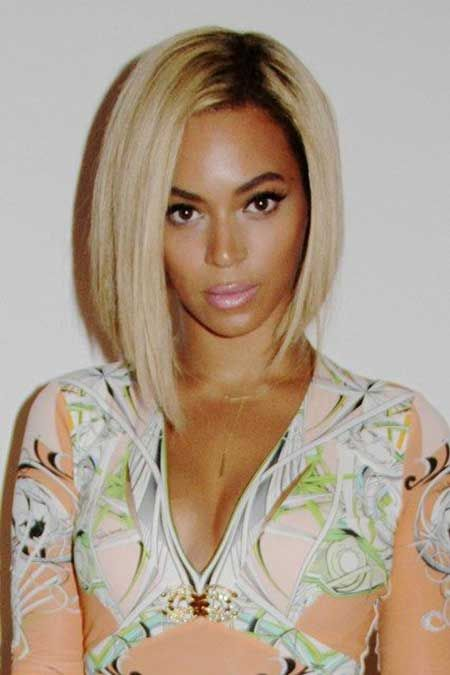 Blond Bob Hairstyle for Black Women