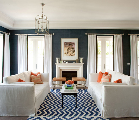 10 Zig-zag Designs to Spice up Your Living Room - Pretty Designs