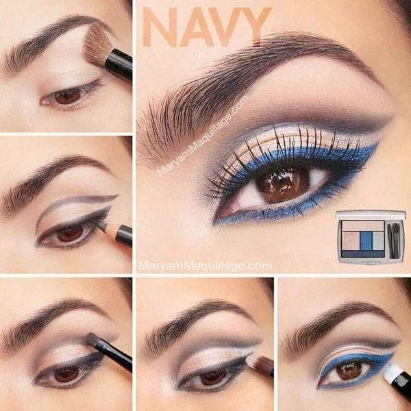 Blue Eyeliner
