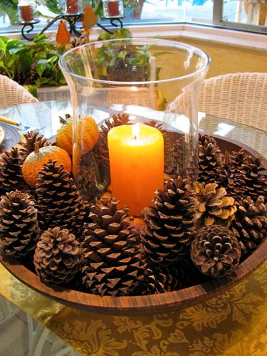 Candle Holder Via. Thanksgiving Banner