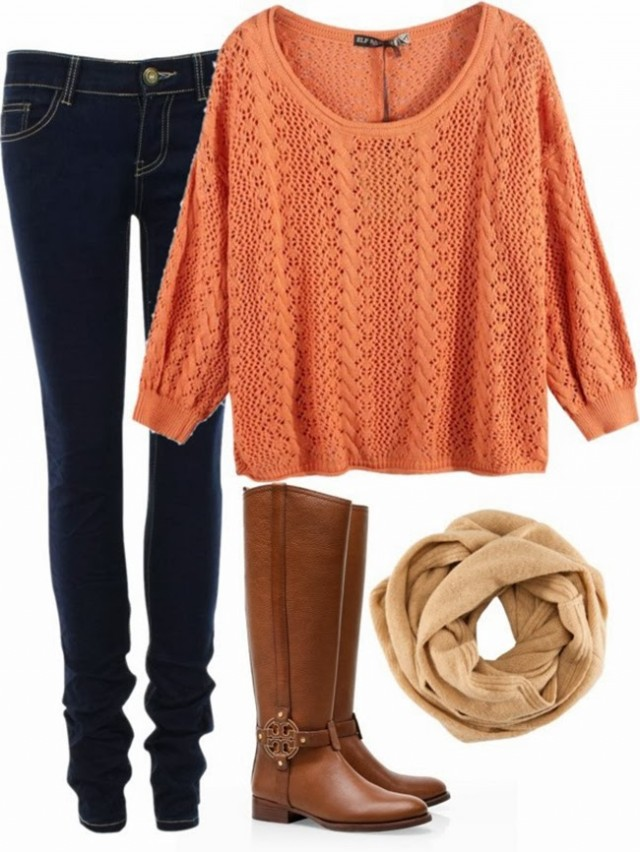 Casual Outfit Idea with Knitwear