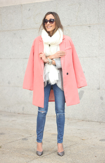 Casual Outfit with Pastel Coats