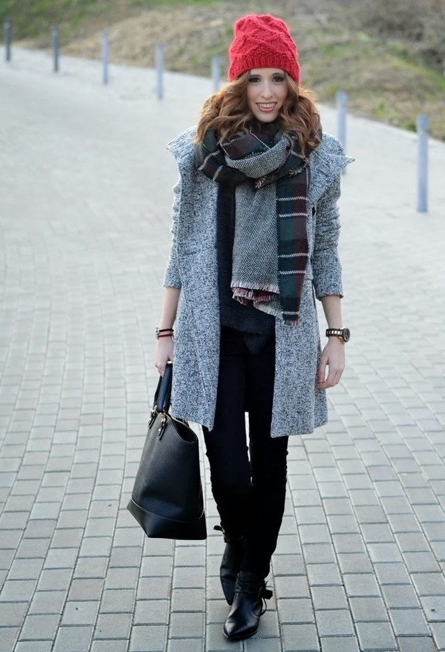 Street Style Outfit Idea For Winter 2015 Pretty Designs
