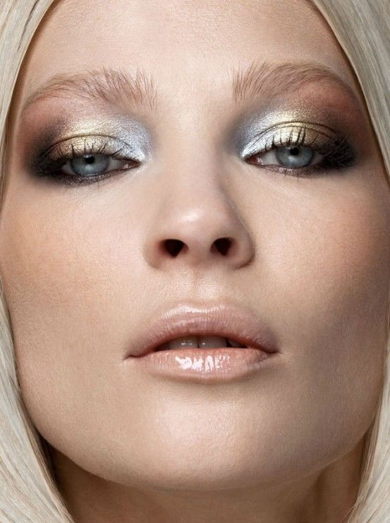 2015 Fashionable Metallic Eye Makeup Ideas - Pretty Designs