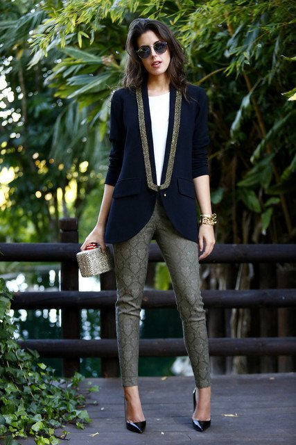 Chic Office Attire for Spring 2015