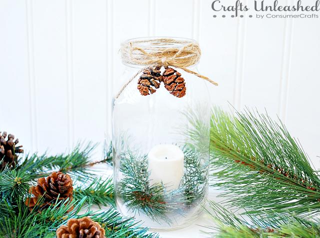 Christmas Candle Holder