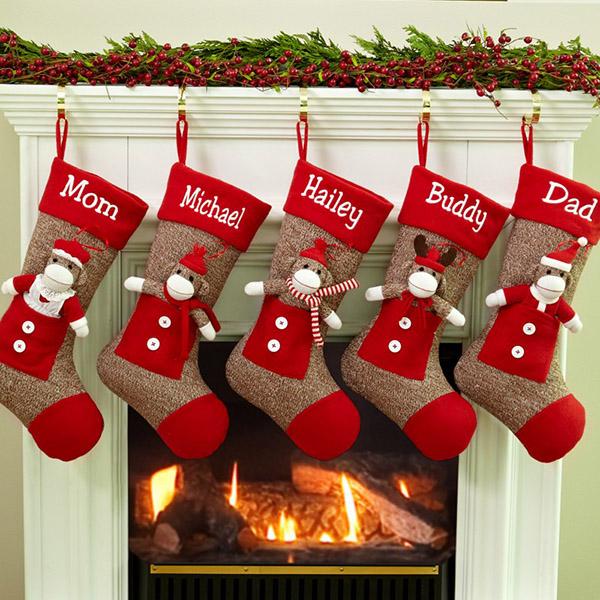 Christmas Stocking Designs-Animal Stockings