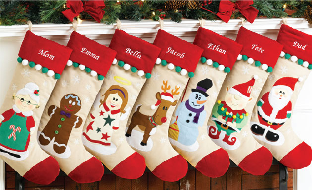 christmas stocking designs cute stockings via