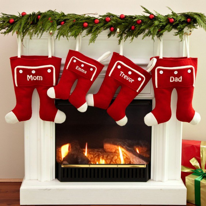 Christmas Stocking Designs-Funny Stockings