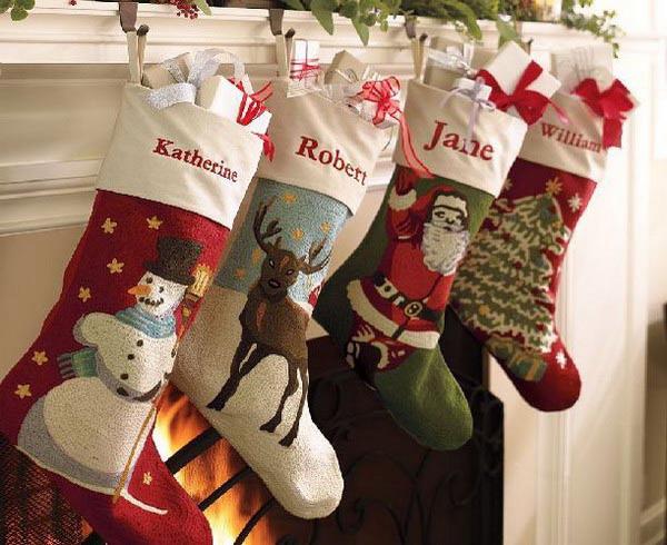 Christmas Stocking Designs-Pretty Stockings