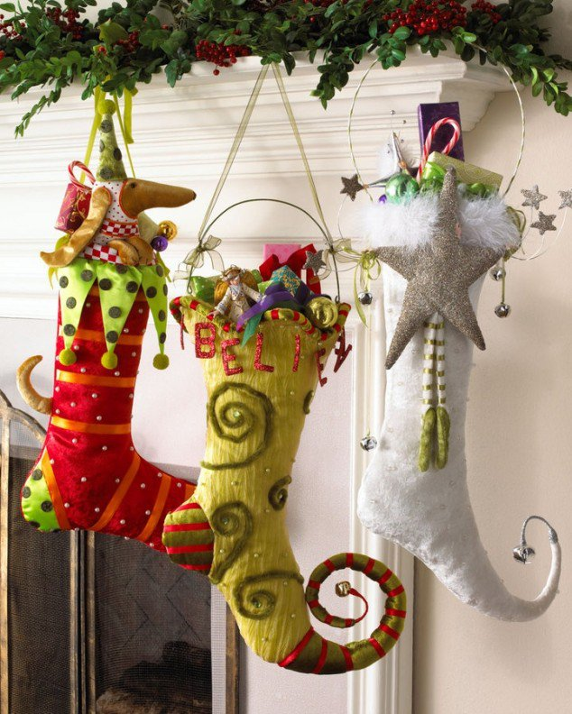 Christmas Stocking Designs-Unique Stockings