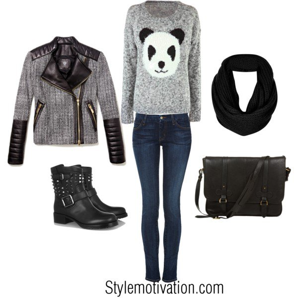 Comfortable Outfit Idea for Winter
