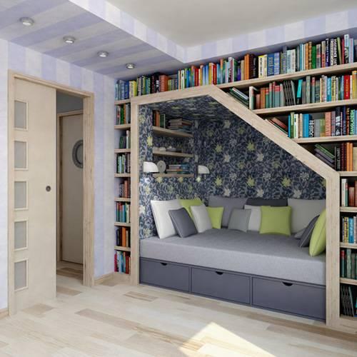 Comfortable Reading Nook